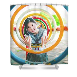 Asian Shower Curtain