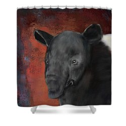 Asian Tapir Shower Curtain