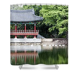 Asian Theater Shower Curtain