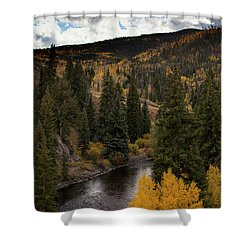 Aspen And Creek Shower Curtain