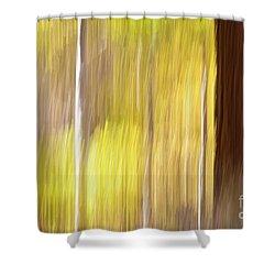 Aspen Blur #1 Shower Curtain