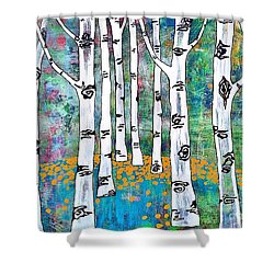 Aspen Bright Shower Curtain