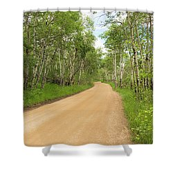 Aspen Way Shower Curtain