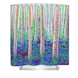 Aspens In Aspen Shower Curtain