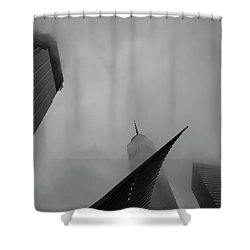 Shower Curtain featuring the photograph Aspire by Alex Lapidus