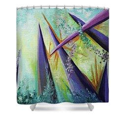 Aspiring Shower Curtain