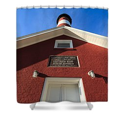 Assateague Light Shower Curtain
