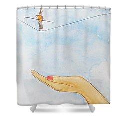 Assurance Shower Curtain