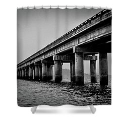 Astoria Bridge Shower Curtain
