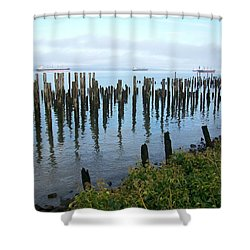 Astoria Ships  Shower Curtain