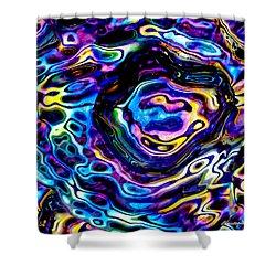 Astral Platter Shower Curtain