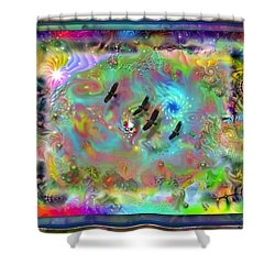 Astral Vision Shower Curtain
