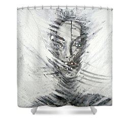Astral Weeks Shower Curtain