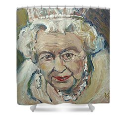 At Age Still Reigning Shower Curtain