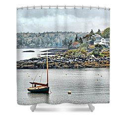 At Anchor - Maine Shower Curtain