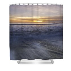 At Beach Shower Curtain