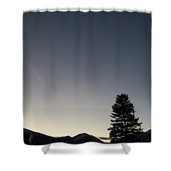 At Dusk Shower Curtain by Jewel Hengen