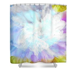At Full Bloom Shower Curtain