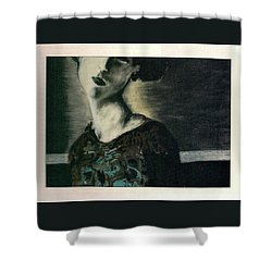 At Her Gaze Shower Curtain
