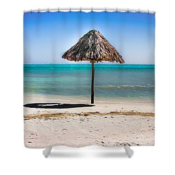 At Last Shower Curtain by Karen Wiles