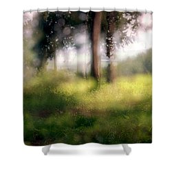 At Menashe Forest Shower Curtain