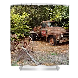 Shower Curtain featuring the photograph At Rest by Marty Koch