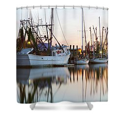 At Rest - Shem Creek Shower Curtain