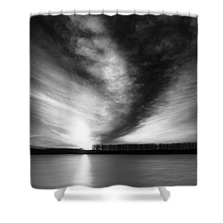 At The End Of The Day 15.02.2018 Shower Curtain