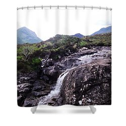 Fairy Pools Shower Curtain