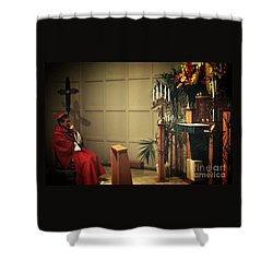 At The Heart Of Everything Shower Curtain