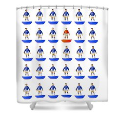 At The Heart Of My Fantasy Team Shower Curtain by John Colley