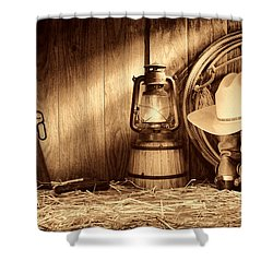 At The Old Ranch Shower Curtain