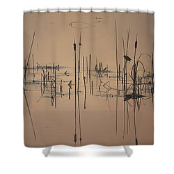 At The Pond Shower Curtain