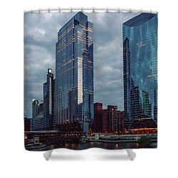At The River's Edge Shower Curtain