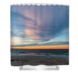 At Twilight Shower Curtain by David Cote