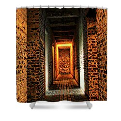 Shower Curtain featuring the photograph Atalaya by Jessica Brawley