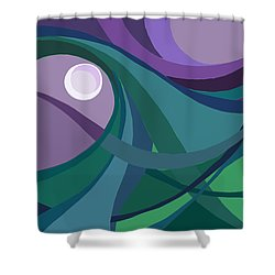 aTARDEcer malva I Shower Curtain