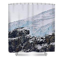 Athabasca Glacier No. 80-1 Shower Curtain