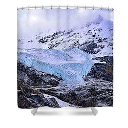 Athabasca Glacier No. 9-1 Shower Curtain
