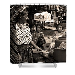 Atitlan Shower Curtain