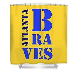 Atlanta Braves Original Sign Shower Curtain