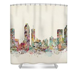 Atlanta City Shower Curtain