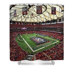 Atlanta Falcons Georgia Dome Shower Curtain