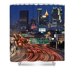 Atlanta Heavy Traffic Shower Curtain