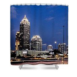 Atlanta Midtown Shower Curtain