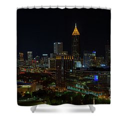 Atlanta Nights Shower Curtain