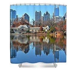 Atlanta Reflected Shower Curtain
