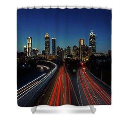 Atlanta Skyline 1 Shower Curtain