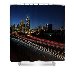 Atlanta Skyline 2 Shower Curtain