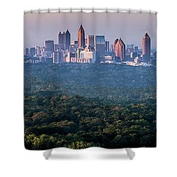 Atlanta Skyline Shower Curtain